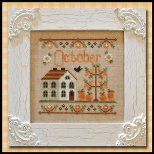 Cottage of the Month - October by Country Cottage Needleworks
