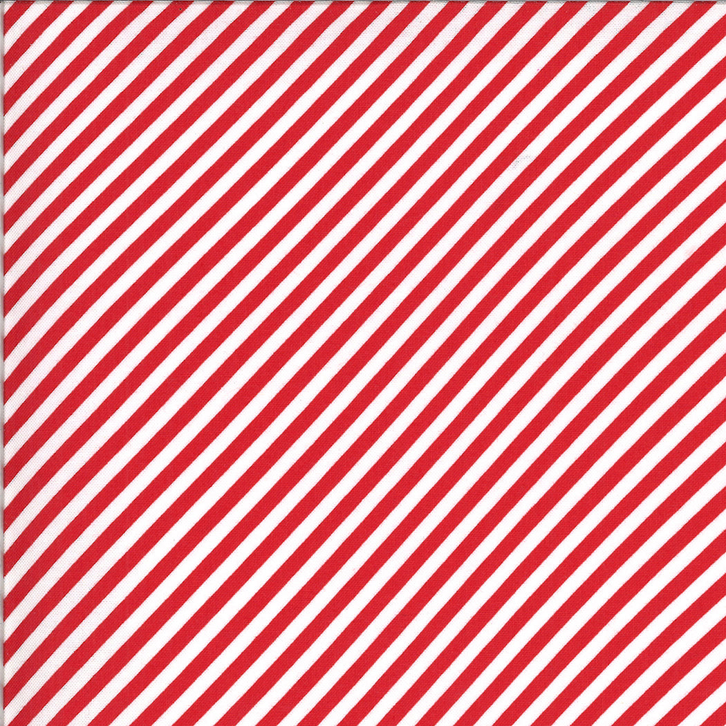 Shine On - Stripe Red by Bonnie & Camille