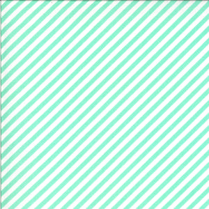 Shine On - Stripe Aqua by Bonnie & Camille