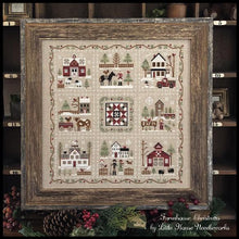 Load image into Gallery viewer, Farmhouse Christmas 1 - Little Red Barn by Little House Needleworks