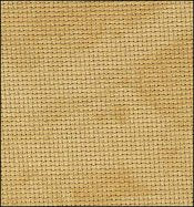 Cross Stitch Cloth - 18 Count Aida - Vintage Country Mocha by Zweigart