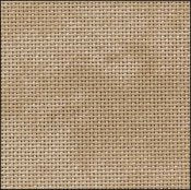 Cross Stitch Cloth - 25 Count Lugana - Country Mocha Vintage by Zweigart