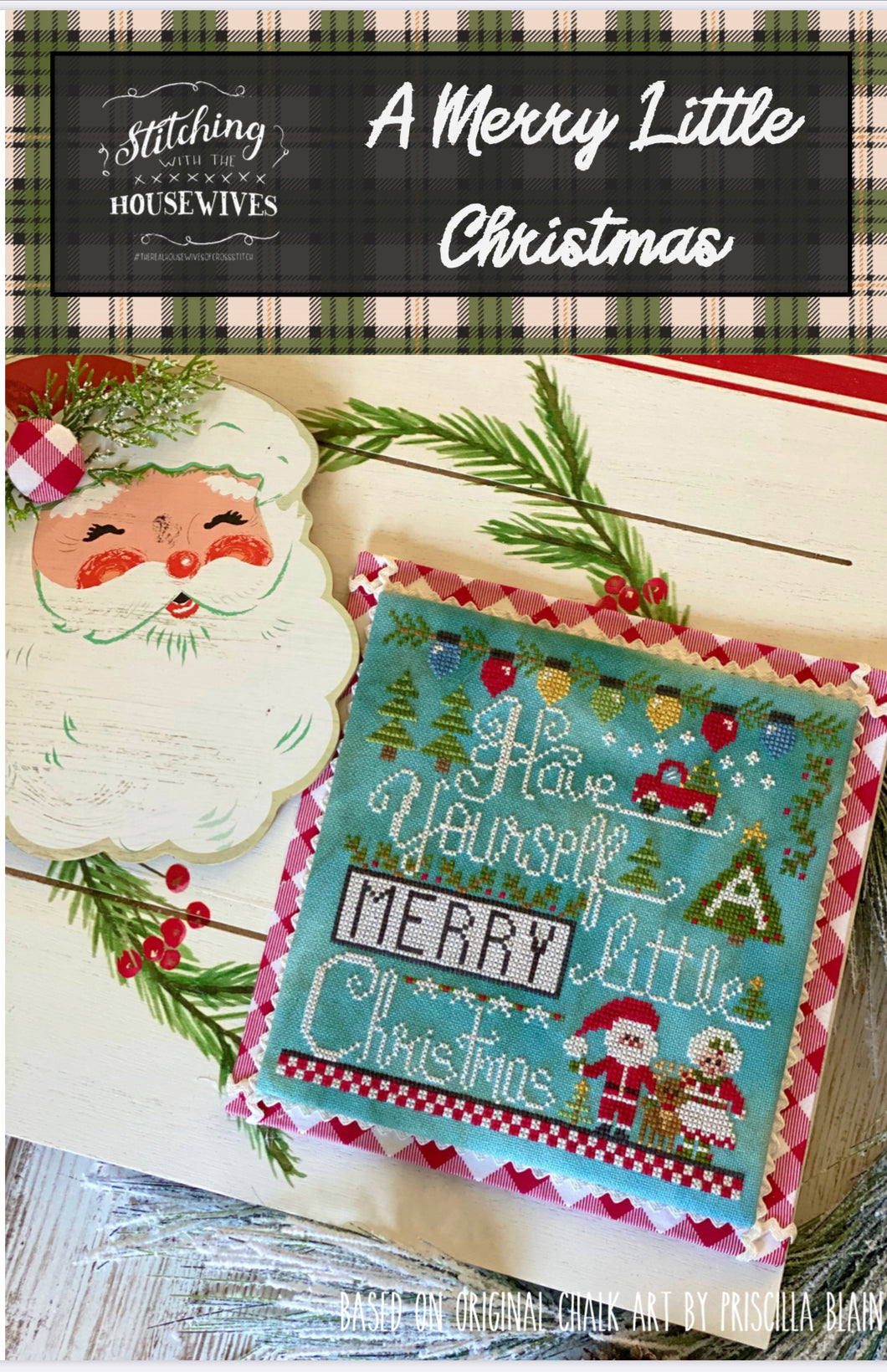 A Merry Little Christmas by Stitching With the Housewives