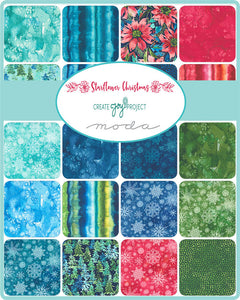 Starflower Christmas by Create Joy Project - Fat Quarter Bundle RESERVATION
