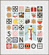 Sweet Snow Along Quilt Pattern by J. Wecker Frisch