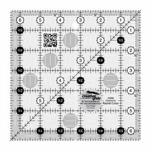 "Ruler - 6 1/2"" Square by Creative Grids"
