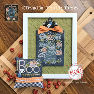 Chalk Full - Boo by Hands On Design