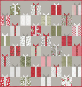 RESERVATION - Nice List Quilt Kit by Lella Boutique