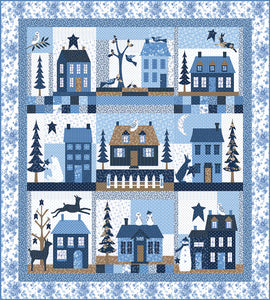 RESERVATION - Crystal Lane Quilt Kit by Bunny Hill Designs