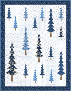 RESERVATION - Blue Spruce Quilt Kit by Bunny Hill Designs