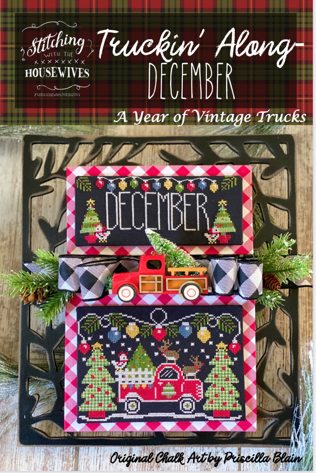 Truckin' Along - December by Stitching With the Housewives