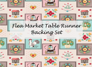 Flea Market Table Runner Backing Set by Lori Holt