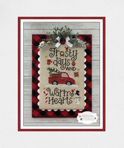 DIGITAL DOWNLOAD - Frosty Days by Cherry Hill Stitchery