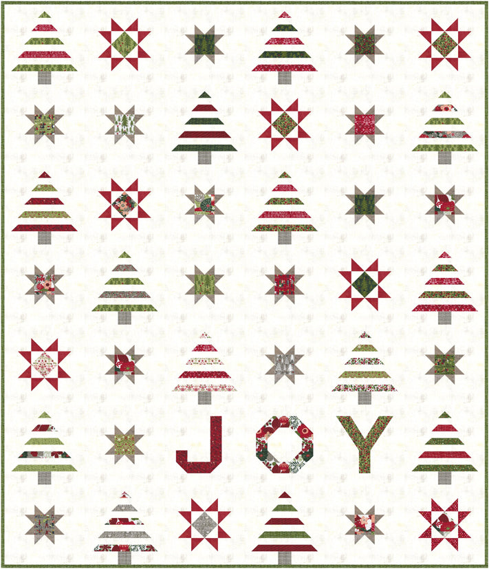 RESERVATION - Spread Joy Quilt Kit by BasicGrey