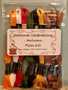 Floss Kit - Seasonal Celebrations - Autumn