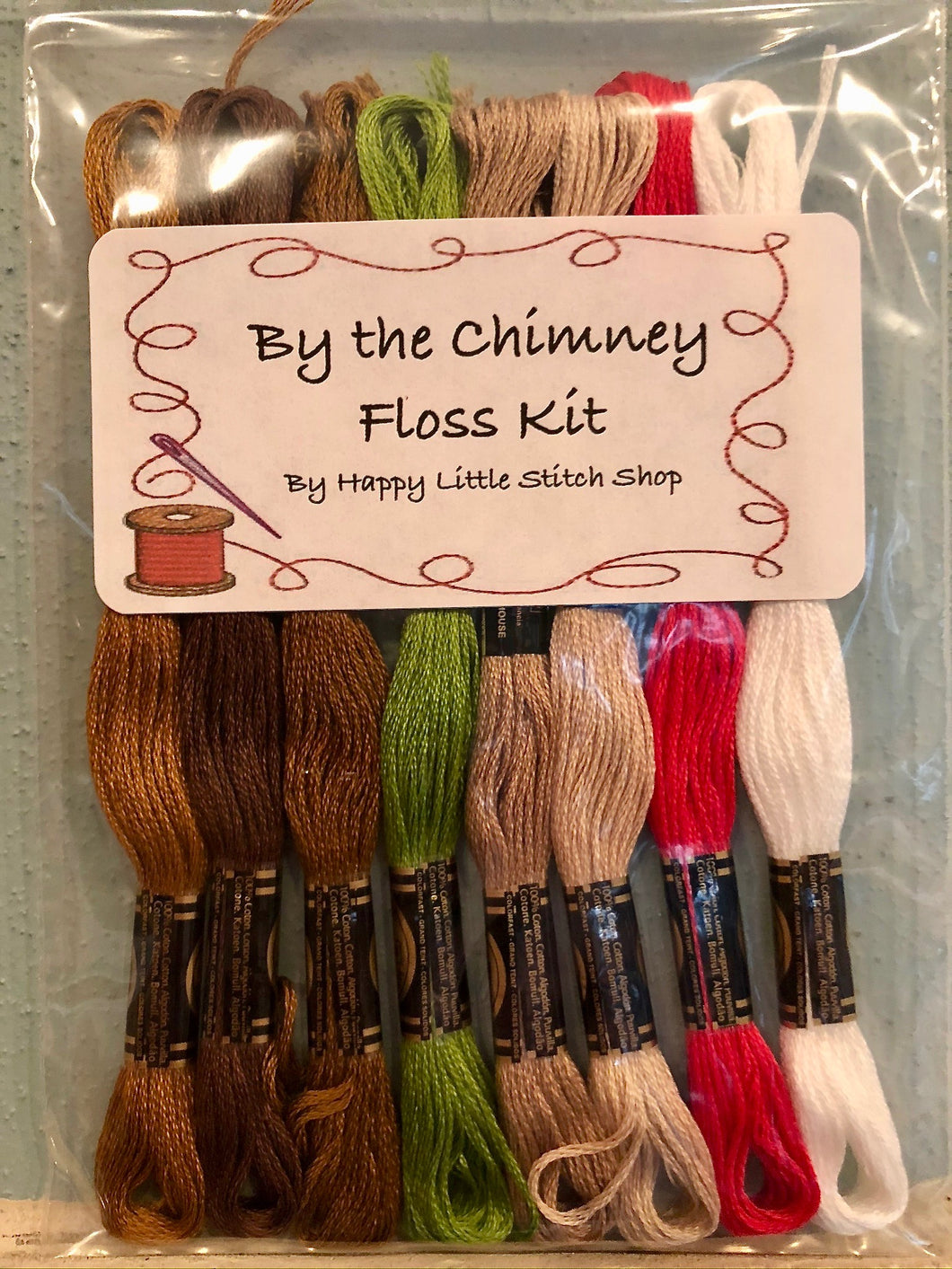 Floss Kit - By the Chimney by Country Cottage Needleworks
