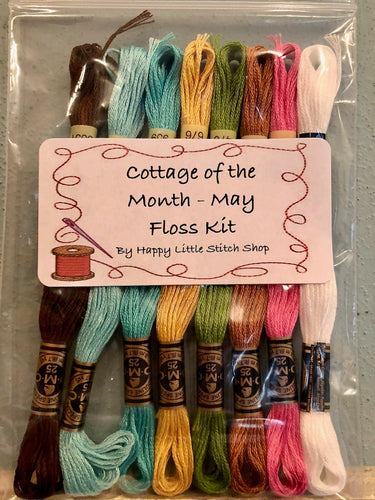 Floss Kit - Cottage of the Month - May