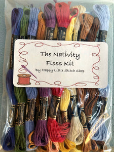 Floss Kit - The Nativity by Country Cottage Needleworks
