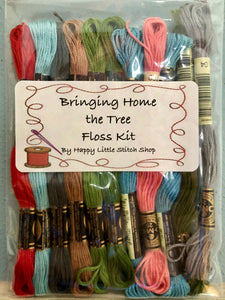Floss Kit - Bringing Home the Tree by Lori Holt