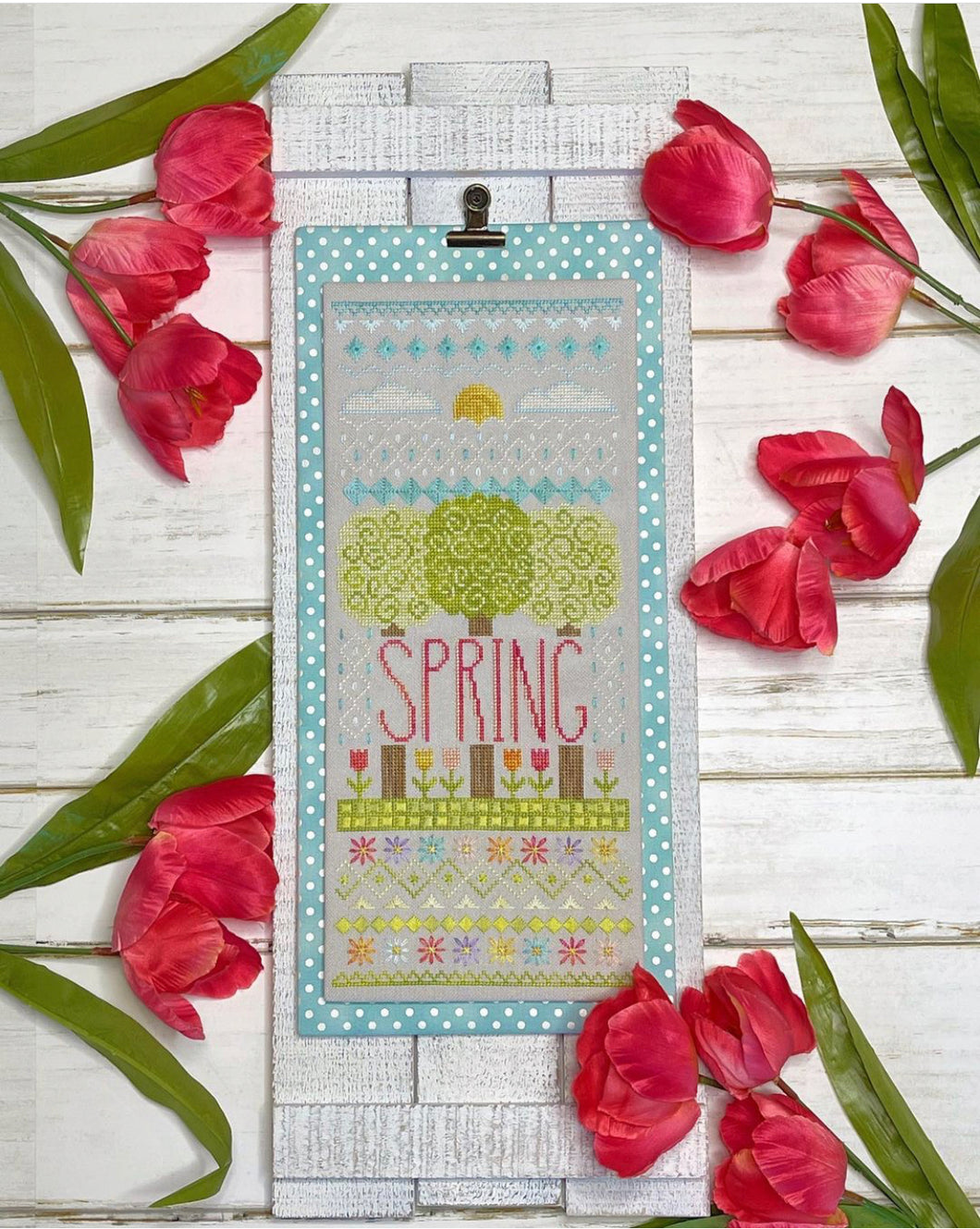 A Sampling of Spring by Little Stitch Girl