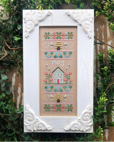 Sampler of the Month - May by Country Cottage Needleworks