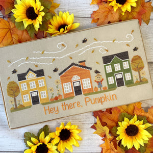 Autumn Avenue by Little Stitch Girl