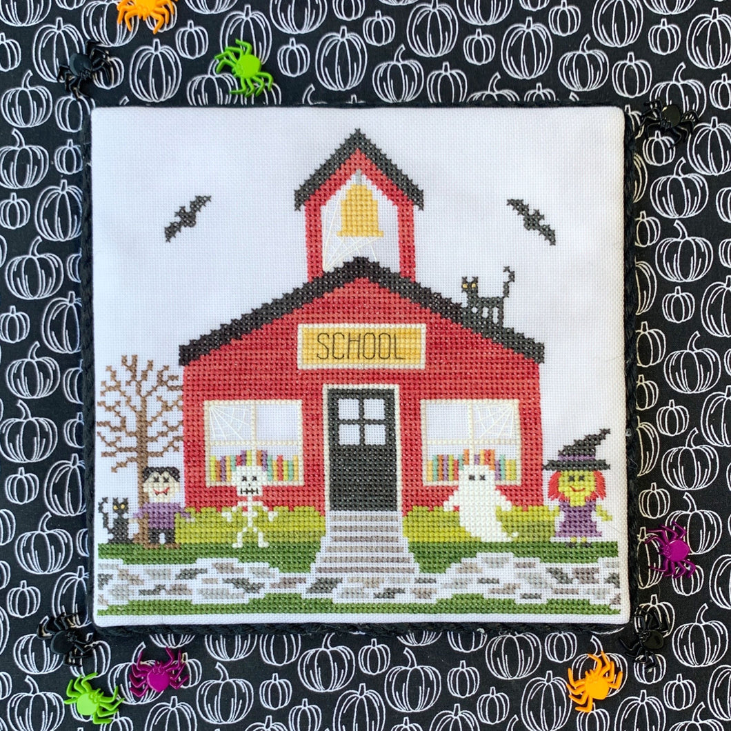 Spooky Hollow 11 - Schoolhouse by Little Stitch Girl