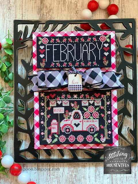 Truckin' Along - February by Stitching With the Housewives