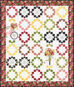 RESERVATION - Pedal Pushers Quilt Kit by Jill Finley or Jillily Studios