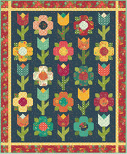 Load image into Gallery viewer, RESERVATION - Midnight Garden Quilt Kit by Heather Peterson