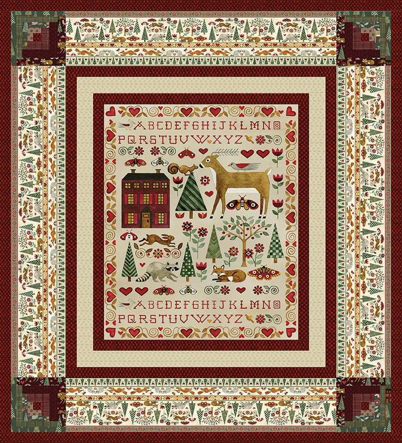 RESERVATION - For the Love of Nature Quilt Kit by Teresa Kogut