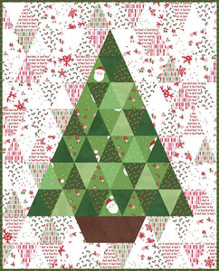 RESERVATION - O'Christmas Tree Quilt Kit by Amanda Castor