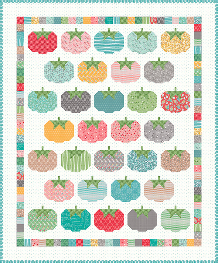 RESERVATION - Tomato Pincushion Quilt Kit by Lori Holt