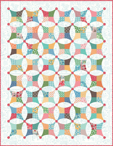 RESERVATION - Flea Market Windows Quilt Kit by Lori Holt