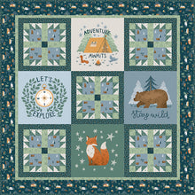 Load image into Gallery viewer, RESERVATION - Camp Woodland Quilt Kit by Riley Blake Designs