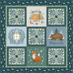 RESERVATION - Camp Woodland Quilt Kit by Riley Blake Designs