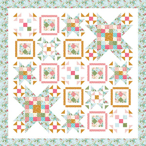 RESERVATION - Swinging on a Star Quilt Kit by Beverly McCullough
