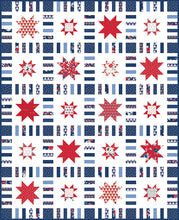 Load image into Gallery viewer, RESERVATION - Stars in Stripes Quilt Kit by Melanie Collette
