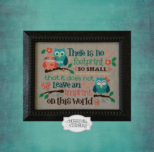 DIGITAL DOWNLOAD - Leave An Imprint by Cherry Hill Stitchery