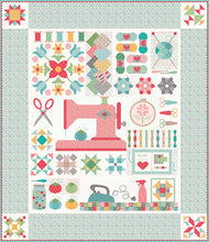 Load image into Gallery viewer, RESERVATION - My Happy Place Sew Along Quilt Kit by Lori Holt