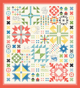 RESERVATION - Oh Happy Day Block of the Month Club by Sandy Gervais