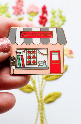 Needle Minder - Quilt Shoppe Main Street by Flamingo Toes