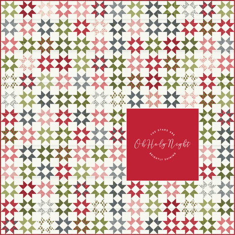 RESERVATION - Oh Holy Night Quilt Kit by Sweetwater