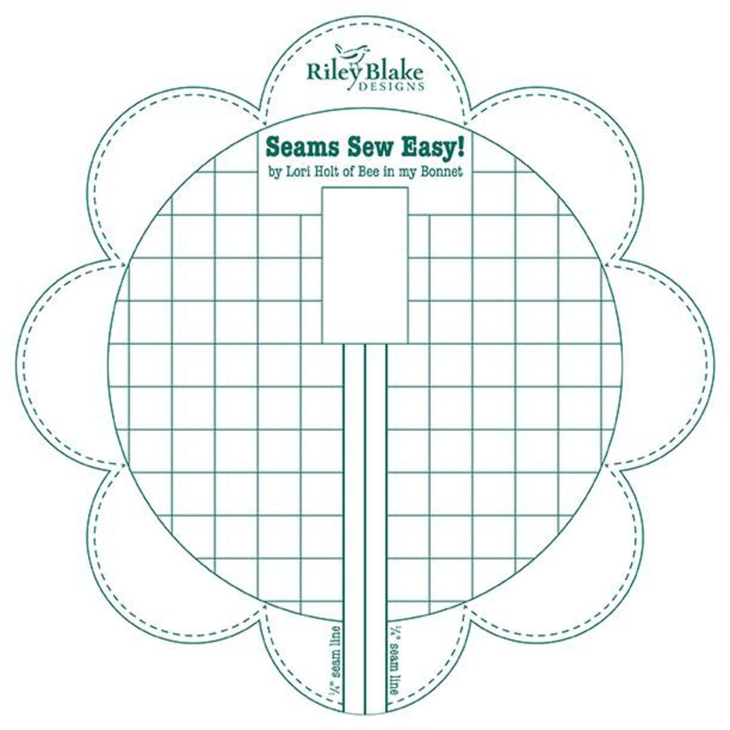 Seams Sew Easy Seam Guide - Jade by Lori Holt
