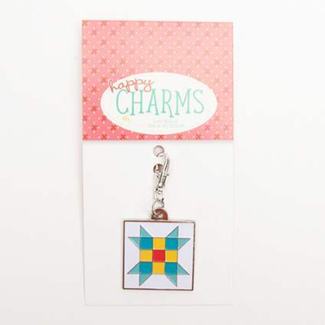 Charm - Nine-Patch Star by Lori Holt