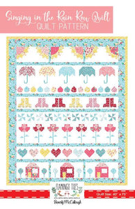 Quilt Pattern - Singing in the Rain by Flamingo Toes