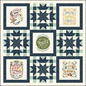 RESERVATION - Praises Quilt Kit by Fancy That Design House