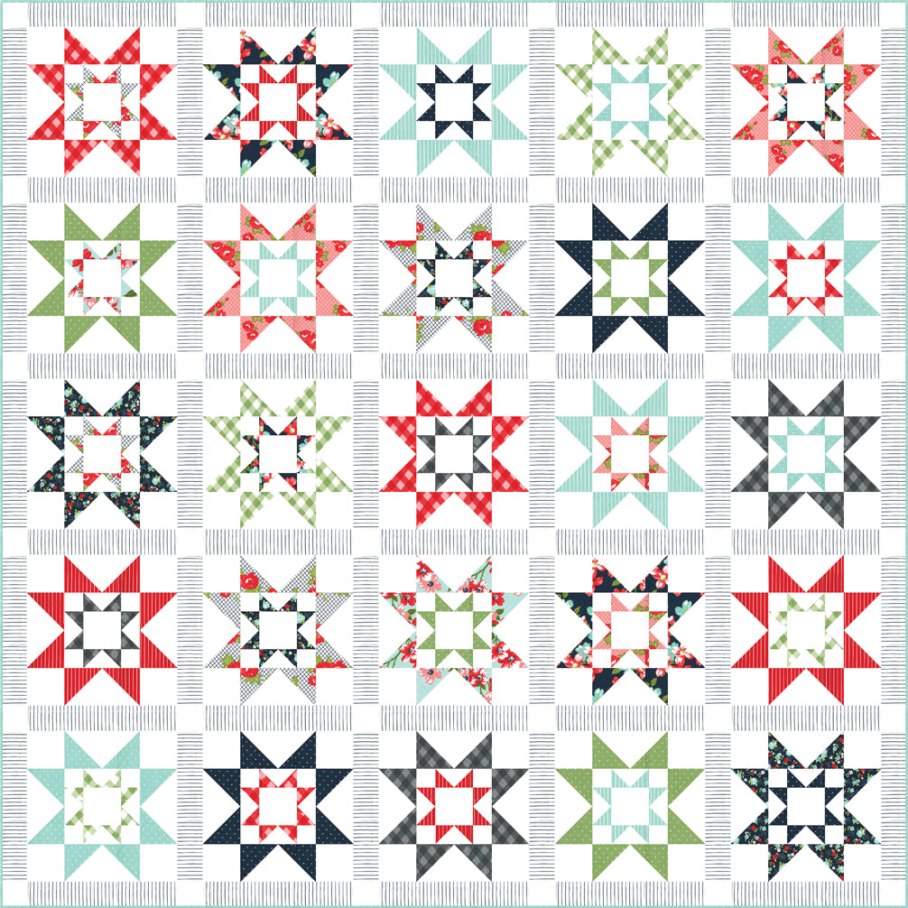 RESERVATION - Grace Quilt Kit by Bonnie & Camille