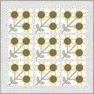 Sunny Side Up Quilt Kit by J. Wecker Frisch