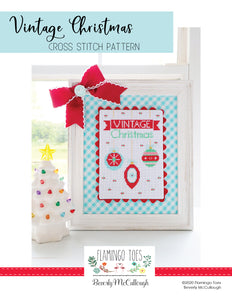 Vintage Christmas - Happy Little Stitch Shop EXCLUSIVE by Flamingo Toes